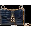 CHLOÉAby Chain croc-effect leather shoul - Hand bag -