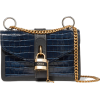 CHLOÉAby Chain croc-effect leather shoul - Messenger bags - £1.34  ~ $1.76
