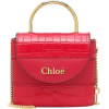 CHLOÉ Aby Lock Small leather shoulder ba - Hand bag -