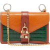 CHLOÉ Aby lizard-embossed leather should - Messenger bags - £495.00