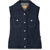 CHLOÉAppliquéd denim vest - Jacket - coats -