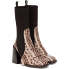 CHLOÉ Bea embossed leather boots - Boots -