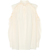 CHLOÉ Blouse en crêpe de soie - Long sleeves shirts -