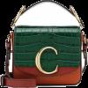 CHLOÉ Chloé C Mini leather shoulder bag - Hand bag - 1,290.00€  ~ $1,501.95