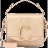 CHLOÉ Chloé C Mini leather shoulder bag - Carteras -