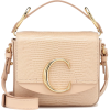 CHLOÉ Chloé C Mini leather shoulder bag - Hand bag -