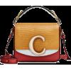 CHLOÉ Chloé C Mini leather shoulder bag - Bolsas de tiro -