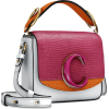 CHLOÉ Chloé C Mini leather shoulder bag - Messenger bags -