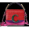 CHLOÉ Chloé C Mini leather shoulder bag - Kurier taschen -