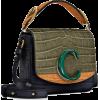 CHLOÉ Chloé C Mini leather shoulder bag - Messenger bags -