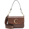CHLOÉ Chloé C Small leather shoulder bag - Сумочки -