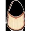 CHLOÉ Darryl small raffia and leather sh - Hand bag -