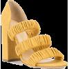 CHLOE GOSSELIN elasticated strap sandals - Sandals - $289.00