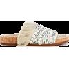 CHLOÉ Embellished slip-on sandals - Sandals -