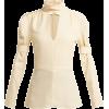 CHLOÉ  High-neck silk-blend blouse - Long sleeves shirts -