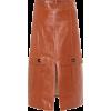 CHLOÉ Leather skirt - Röcke -