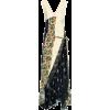 CHLOÉ Patchwork silk midi dress - Dresses -