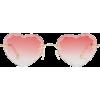 CHLOÉ  Rosie heart-shaped sunglasses - Sunglasses -
