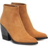 CHLOÉ Rylee suede ankle boots - Boots -