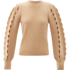 CHLOÉ Scalloped-edge cutout wool-blend s - Maglioni -