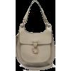 CHLOÉ Tess medium leather shoulder bag - Torby posłaniec -