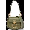 CHLOÉ Tess small croc-effect leather sho - Mensageiro bolsas - 1.19€