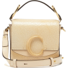 CHLOÉ  The C mini cracked-leather should - Carteras -