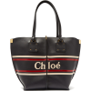 CHLOÉ  Vick logo-stripe leather tote - Borsette -