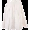 CHLOÉ WOMEN'S CHC20UJU22482107 WHITE SIL - Skirts -