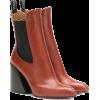CHLOÉ Wave leather ankle boots - Škornji - 750.00€