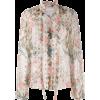 CHLOÉ floral print blouse - Košulje - duge -