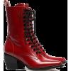 CHLOÉ rode callee medium 60 leren laarze - Boots -