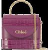 CHLOÉ small Aby lock bag - Hand bag -