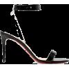 CHRISTIAN LOUBOUTIN Jonatina 85 PVC-trim - Sandals -