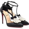 CHRISTIAN LOUBOUTIN Goyetta 100 satin pu - Klasične cipele -