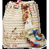 CHRISTIAN LOUBOUTIN  Marie Jane woven ju - Hand bag -