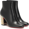 CHRISTIAN LOUBOUTIN Vasa 85 leather ankl - Boots - £1.10