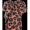 CHRISTIAN WIJNANTS floral ruffle blouse - Koszule - krótkie -