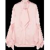CHRISTOPHER KANE Pussy-bow satin blouse - Long sleeves shirts -