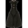 CHRISTOPHER KANE black star satin dress - Vestiti -