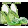 CINDERELLA SANDALS WITH PLEXIGLAS HEEL € - Sandals - 995.00€  ~ $1,158.48