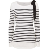 CLAUDIE PIERLOT Bow Top - Camicie (lunghe) -