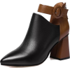 COLOR BLOCK ANKLE STRAP BOOTS - Boots - $29.97