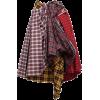 COMME DES GARÇONS plaid skirt - Skirts -