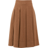 CONNOLLY Pleated twill midi skirt £491 - Spudnice -