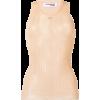 COURRÈGES knitted vest top - Koszulki bez rękawów -