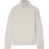 CO Wool and cashmere-blend turtleneck sw - Pullovers -