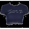 CROP TOP - T-shirts -