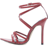 CROSS STRAP HIGH HEEL SANDALS-3 - サンダル - $29.97  ~ ¥3,373