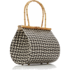 CULT GAIA bamboo and raffia bag - Borsette -